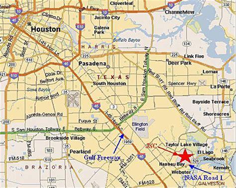 jsc houston map johnson space center radio club