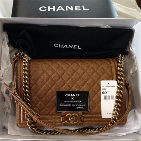 Channel Wog Boy Caviar 8 chanel handbags chanel medium brown boy bag