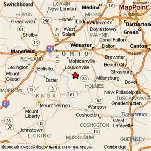 Holmes County Ohio Map by Nashville Holmes Co Ohio