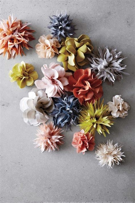 Handmade Fabric Flowers Tutorial - 253 best images about diy and crafts on paint