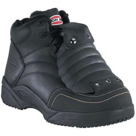 steel toe slippers s iron age 174 6 quot steel toe external met guard work shoes