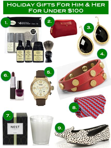 holiday gift ideas for her under 100 money can buy him and her gift guide all under 100 dallas socials