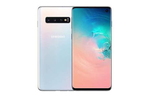 samsung smartphone galaxy s10 dual sim 128gb prism white for sale in lucan dublin from xyber hop