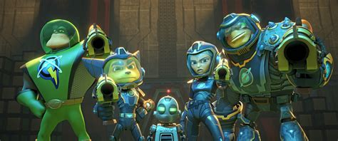 wallpaper ratchet clank  animation movies