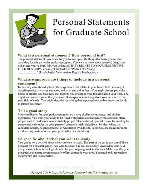 Statement Of Purpose For Mba Accounting by Grad School Essays Sles Graduate School Statement