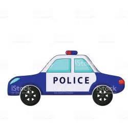 Commercial Garage Plans Police Car Icon Cartoon Style Stock Vector Art 516043024