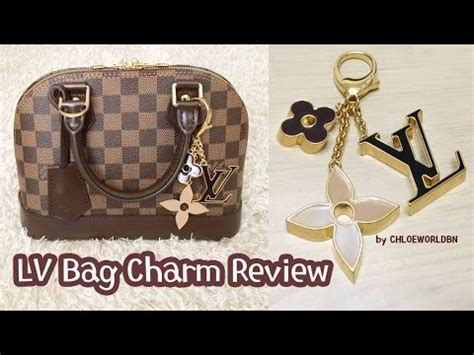 louis vuitton bag charm reviewfleur de monogram bag charm