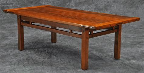 greene and greene dining table plans