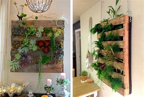 21 Vertical Pallet Garden Ideas For Your Backyard Or Balcony Hanging Wall Garden Design