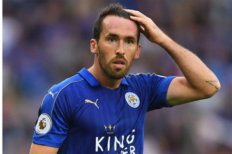 leicester christian fuchs mls premier league latest news quotes daily star