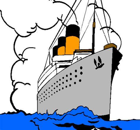barco dibujo simple imagenes barco a vapor