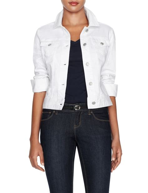Personal Style P S Outerwear the essential white denim jacket s outerwear the