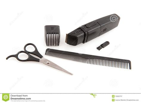 Hair Dresser Tools by Tools For The Hair Dresser Royalty Free Stock Photography
