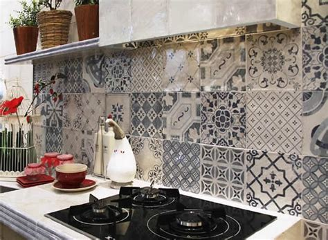 Subway Tiles In Kitchen patterned artisan tiles sydney moroccan bespoke vintage