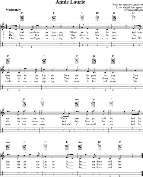 michael row the boat ashore tablature annie laurie mandolin tab mandolin pinterest