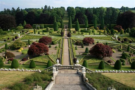 Renaissance Gardens by Drummond Castle Gardens And Ardoch Fort