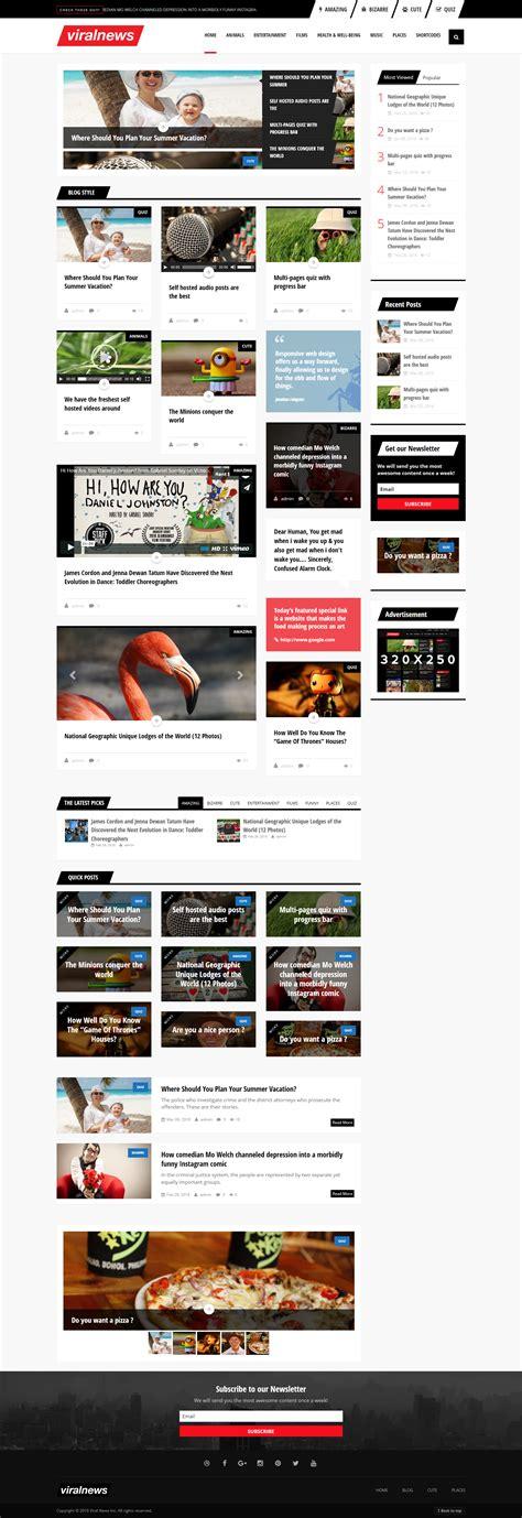 free wordpress themes zip format viralnews buzz wordpress theme download zip template