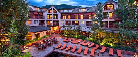 Stone Baths the little nell luxury hotel in aspen colorado