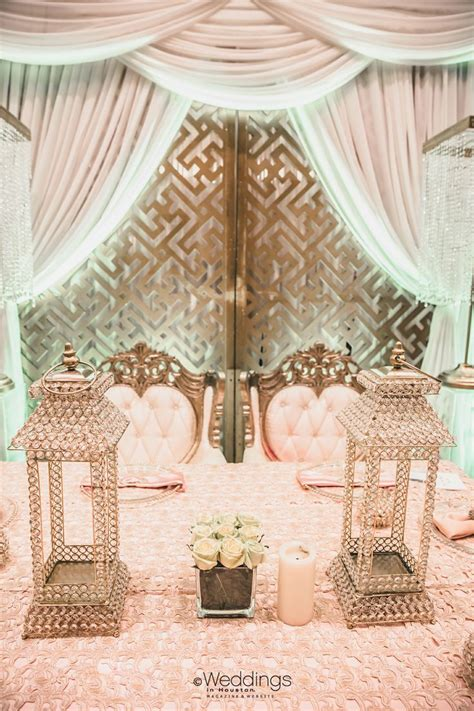 Blush And Gold Wedding Decor by Blush And Gold Wedding Decor By The Touch
