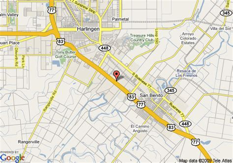 san benito texas map map of 8 motel san benito san benito
