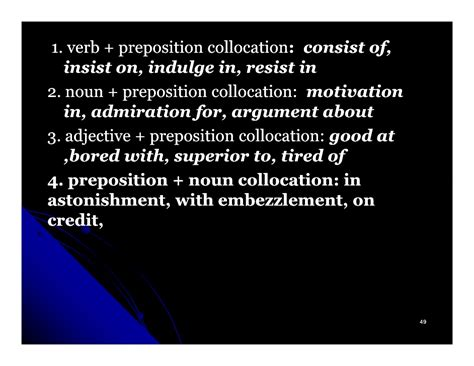 verb pattern insist grammatical collocation