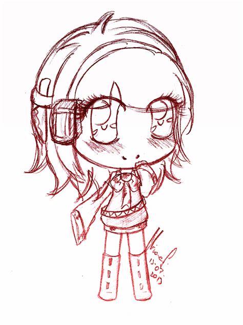 kawaii sketchbook chibi sketch commission kawaii yandere by lilolilosa on