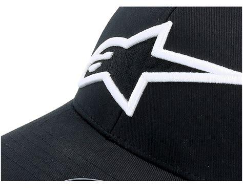 Astar Alpinestar astar logo black white alpinestars cap hatstore de