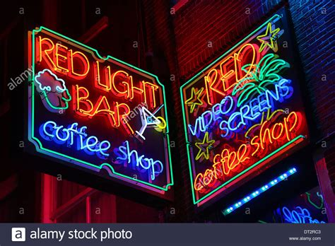 the light bar shop neon lights of the light bar coffeeshop where taking