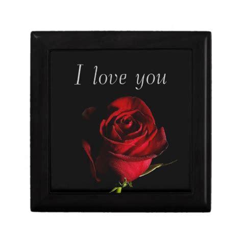 i love you gift box zazzle