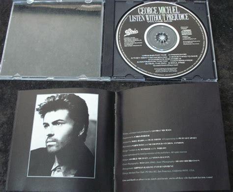 Cd George Michael Listen Without Prejudice george michael cd listen without prejudice japon 234 s r 55 00 em mercado livre