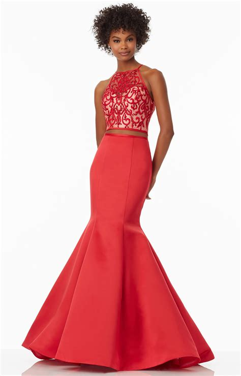 2 Die 4 Prom Dress by Mori Prom 99069 Two And Mermaid Dress