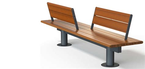 contemporary bench with back wooden bench with back al skop skop bench with back by