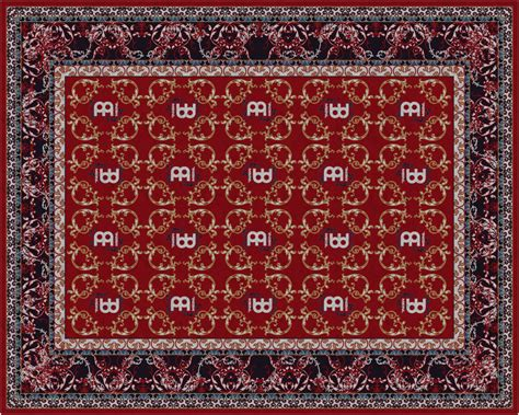 Oriental Drum Rug by Nickel Jost Meinl Cymbals Soundcheck