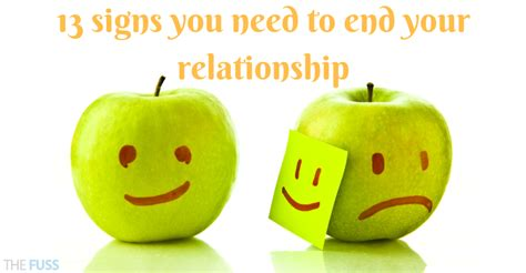 Signs You And Your Partner May Need A by 13 Signs You Need To End Your Relationship The Fuss