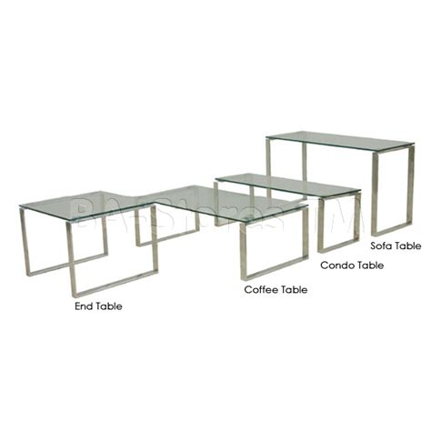 calvin end table with glass top end and coffee tables