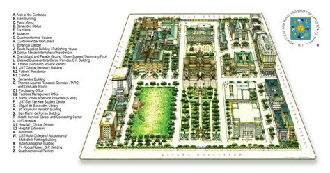 Of Santo Tomas Mba Program by Cus Map Of Santo Tomas