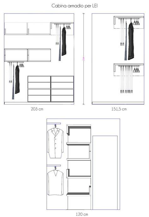 dimensioni cabina armadio arredaclick cabina armadio piccola e stretta un