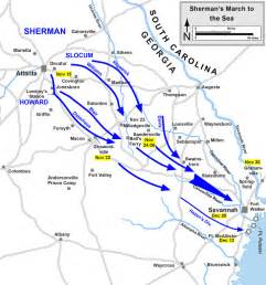 Sherman s march to the sea the campaign through georgia in 1864