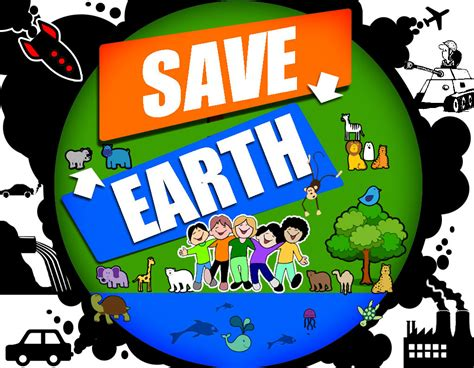 Kaos Save Earth From Pollution admin world map