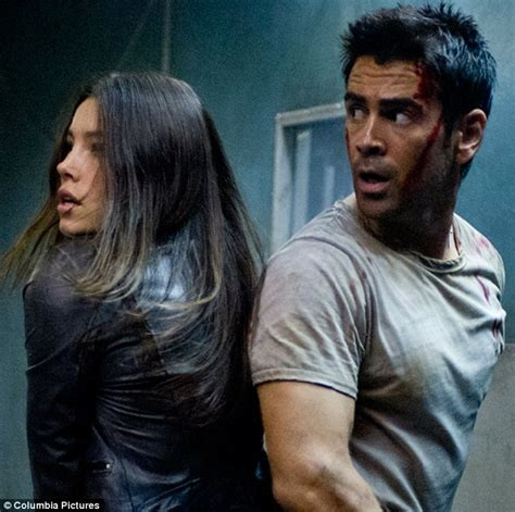 Biels New Squeeze by Colin Farrell Springs Into With Sidekick