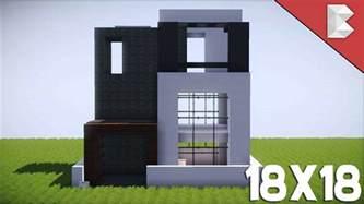 minecraft 18x18 modern house tutorial best small modern