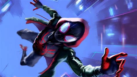 miles morales  spider man   spider verse wallpapers hd wallpapers id