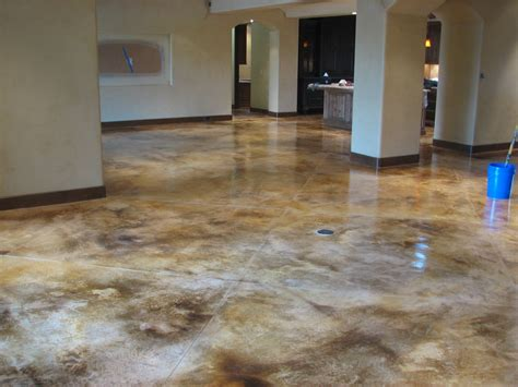 how to stain concrete diy home improvement make your photos of concrete dye this is a brown acid stain on raw