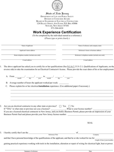templates for experience certificates download experience certificate templates for free