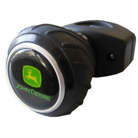 Steering Wheel Knob by Deere Deluxe Steering Wheel Spinner Knob Black