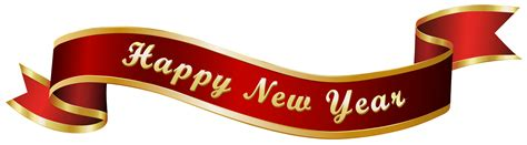 new year banner images happy new year banner transparent png clip image