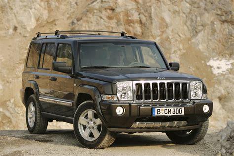 2007 jeep commander top speed