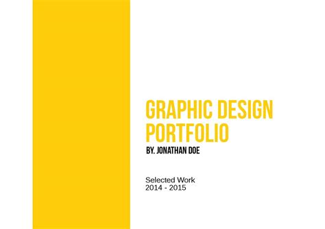 graphic design template issuu graphic design portfolio template by adekfotografia