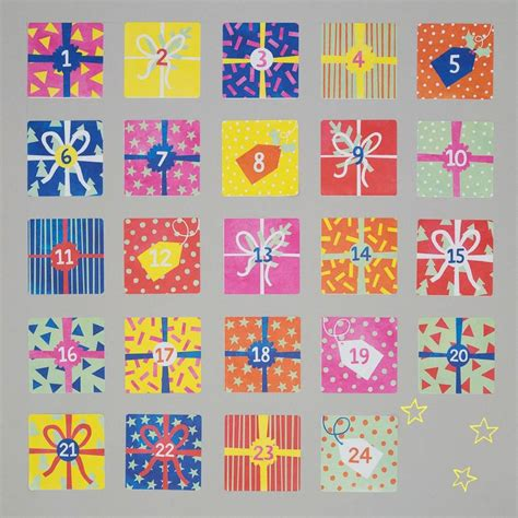 make an advent calendar make your own advent calendar kit by cotton twist