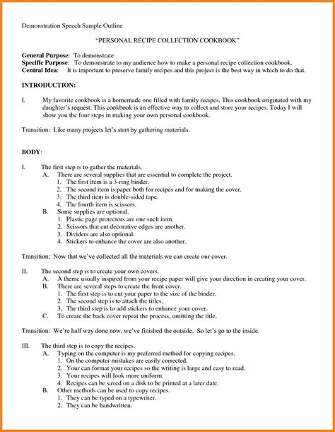 sle of a expository essay expository speech outline bamboodownunder